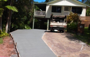 6. Driveway Extension Finish