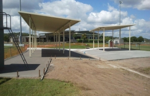 7. Maroochy Afl Spectator Area Finished Concrete