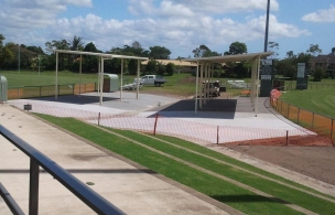 8. Maroochy Afl Spectator Area Finished Project